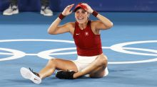 Bencic wins gold for Federer and Hingis