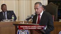 Hartford Mayor And City Council Continue Debate Over Budget Cuts