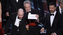 Empresa que audita o Oscar se desculpa e diz que vai investigar erro
