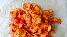 Homemade BBQ Sweet Potato Chips Will Rock Your Next Shindig
