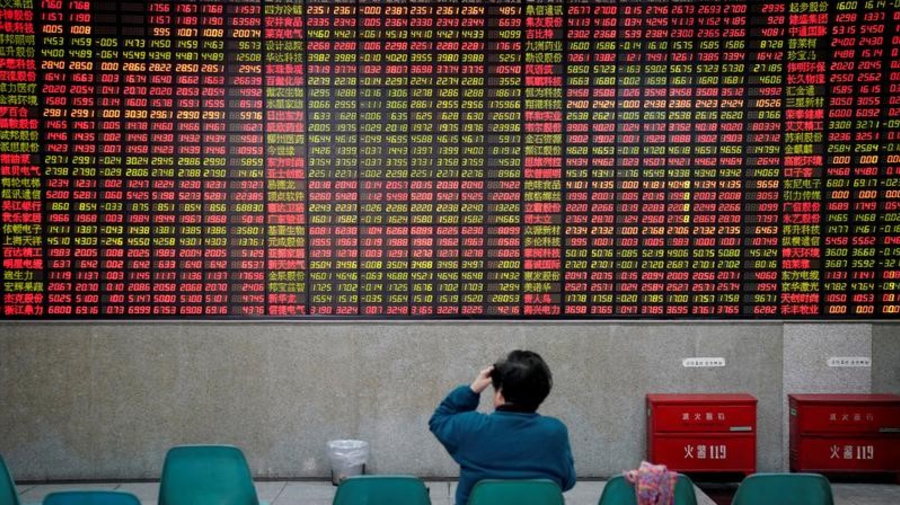 Asia shares inch up, cautious on Sino-U.S. trade talks