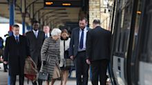 The Queen returns to London after her winter break in Sandringham