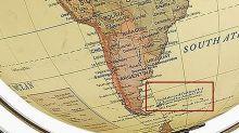 Enojo en Londres porque un globo terráqueo llama Malvinas a las islas del Atlántico Sur