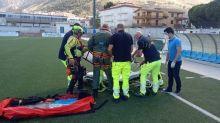 Elicottero AM soccorre donna colta da malore nella Riserva Zingaro