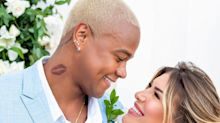 Léo Santana e Lorena Improta se casam no civil na Bahia