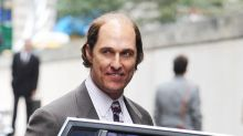 Matthew McConaughey Is Bald and Paunchy on the Set of 'Gold'