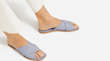 Everlane just released the prettiest sandals for summer — and they're already on sale