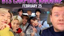 Buckle up: BTS is coming to Carpool Karaoke