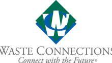 Waste Connections Announces Regular Quarterly Cash Dividend