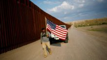 Iraq war Marine walks U.S.-Mexico border to protest deportation of veterans