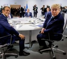 Trump dampens Macron optimism on Iran talks