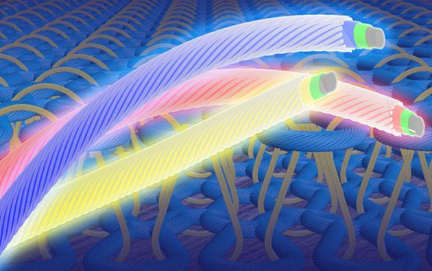 Light-emitting fabrics could reinvent your '90s wardrobe