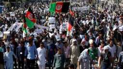 At least 10 die in blast at march in Afghan capital Kabul: officials