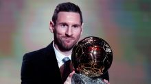 'The GOAT?': Messi secures record sixth Ballon d'Or as Ronaldo snubs ceremony