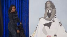 Michelle Obama's Portrait Is So Popular It Had To Be Moved