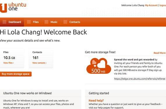 Canonical launches Ubuntu One referrals program, lets you earn cloud storage one friend at a time