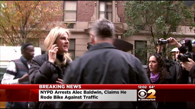 Police: Alec Baldwin Arrested After Riding Bike Wrong Way On Fifth Avenue