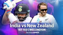 India vs New Zealand 1st Test Day 4 Live Cricket Score Updates: Can Rahane bail India out?