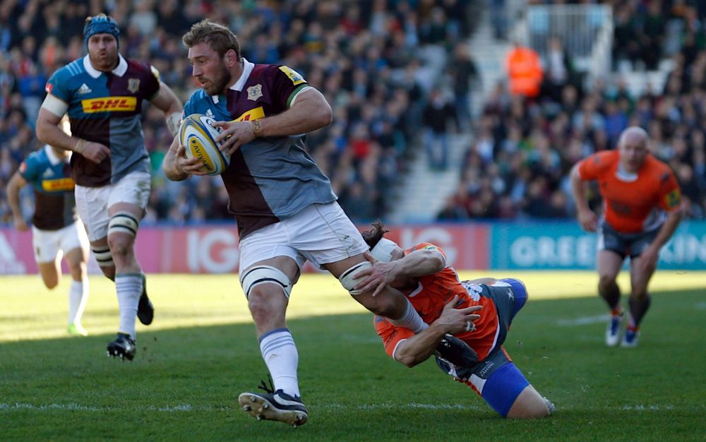 Chris Robshaw put in a man of the match performance in his first game for 12 weeks - PA