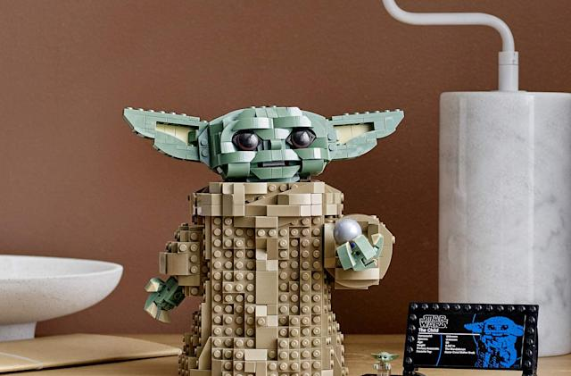 Lego's Baby Yoda set is ready just in time for more 'Mandalorian'