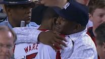 Kevin Ware's emotional reunion