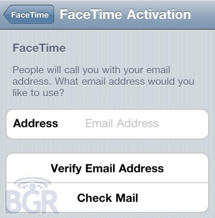 iPod touch FaceTime calling to be based on email addresses?
