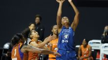 No. 7 seed Sun crush Sparks, Lynx survive Diana Taurasi to reach WNBA semifinals