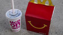 """McDonald's lance un """"Happy Meal"""" végétarien au Royaume-Uni"""