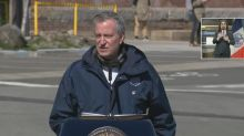 Lack of surgical gowns 'real concern': NYC mayor