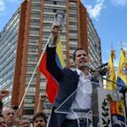 U.S. recognizes Venezuela opposition leader Juan Guaido as president; Russia backs Maduro