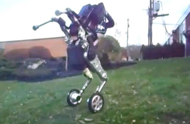 The latest Boston Dynamics robot will roll its way into your nightmares