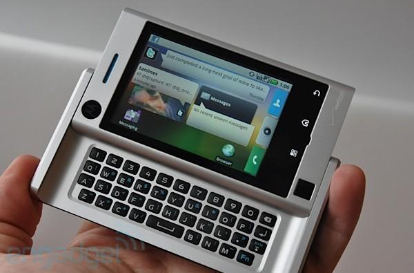 Motorola Devour goes hands-on, hits Best Buy for $99 this week (update: video!)