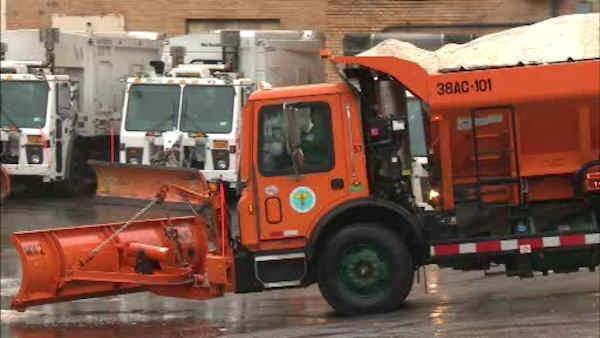 MTA preps ahead of big snow storm