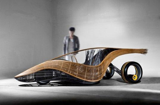 Kenneth Cobonpue's biodegradable car: time to ditch the Gremlin rusting in your yard