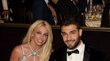 Britney Spears and Sam Asghari make rare appearance together at GLAAD Awards