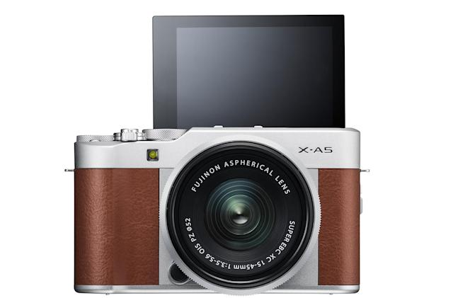 Fujifilm brings faster autofocus to its selfie-friendly X-A5