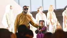 North West makes rap debut at Kanye's Paris fashion show