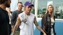 Justin Bieber Got Asked About Selena Gomez's Hospitalization While Out With Hailey Baldwin