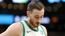 Celtics' Hayward to miss four weeks with ankle sprain