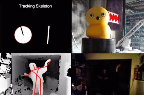 My Keepon: Kinect-ing hackers and goths through the art of dance (video)