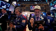 Wall Street opens lower as Apple weighs, trade deadline looms