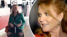 Sarah Ferguson sends royal fans into hysterics with bizarre video upload