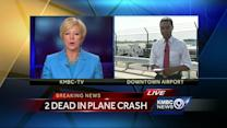 Small plane crashes at downtown airport, killing 2