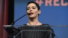 Rose McGowan Tweets Scathing Thoughts on Golden Globes All-Black Fashion, 'Hollywood Fakery'