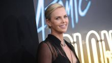 Charlize Theron wears a totally see-through shirt - and it's not a wardrobe malfunction