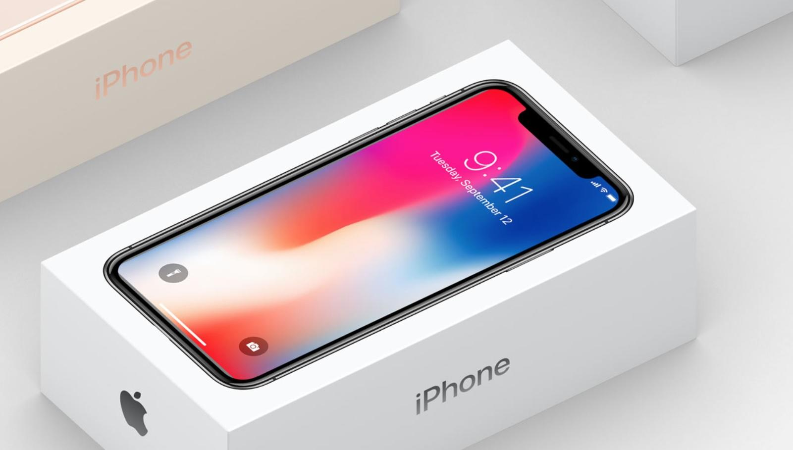 Our First Official Look At The Iphone X Packaging Is Hidden On