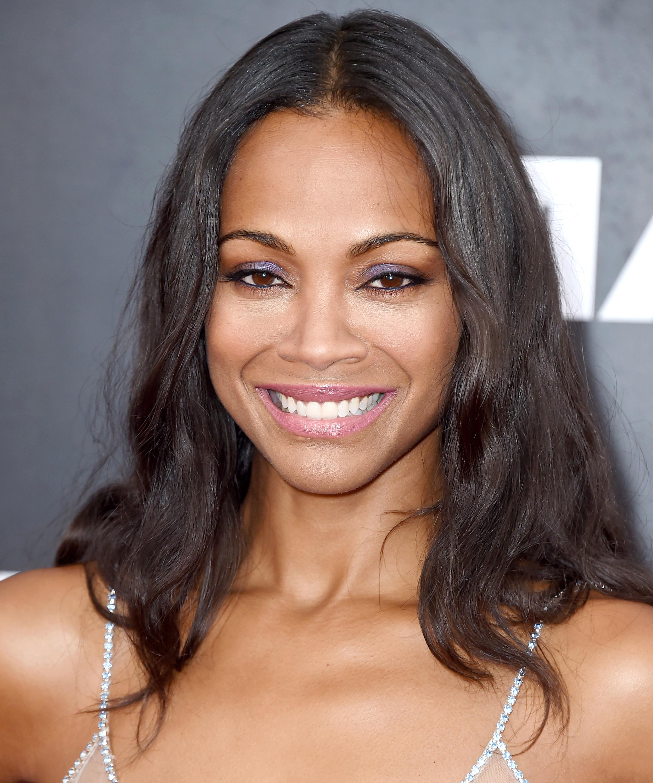 Zoe Saldana Has Great Travel Advice for Moms Everywhere