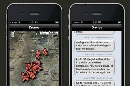 Apple rejects iPhone app that tracks military drone strikes