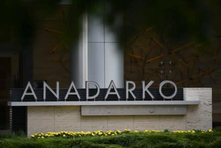 Anadarko Petroleum Corporation is seen in The Woodlands