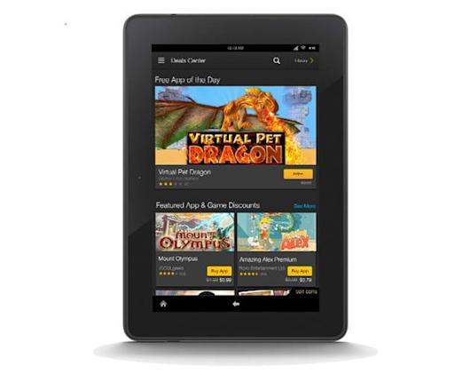 Amazon Deal Center is a one-stop shop for discounted Kindle Fire apps